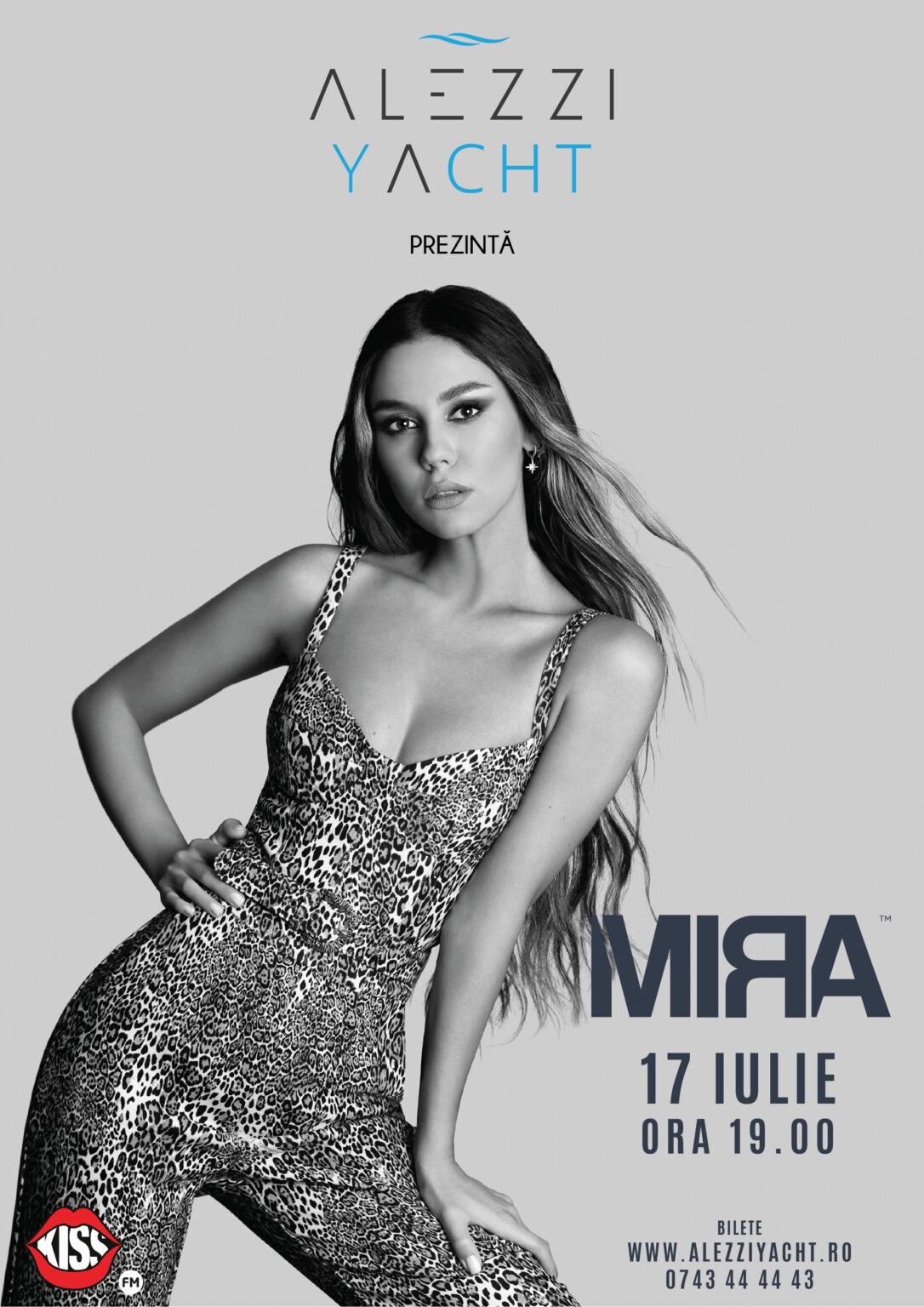 Mira Live on Alezzi Yacht