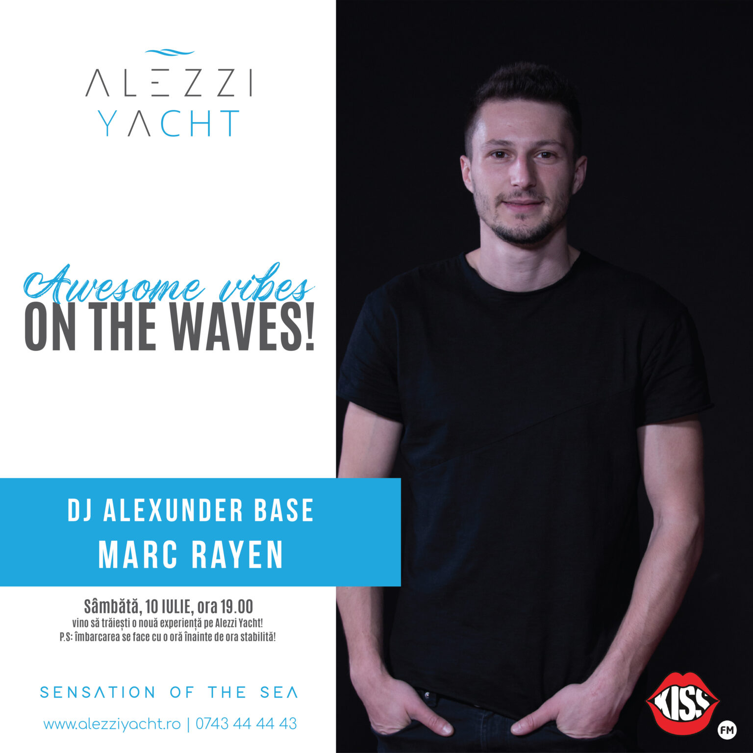 MARC RAYEN on the waves